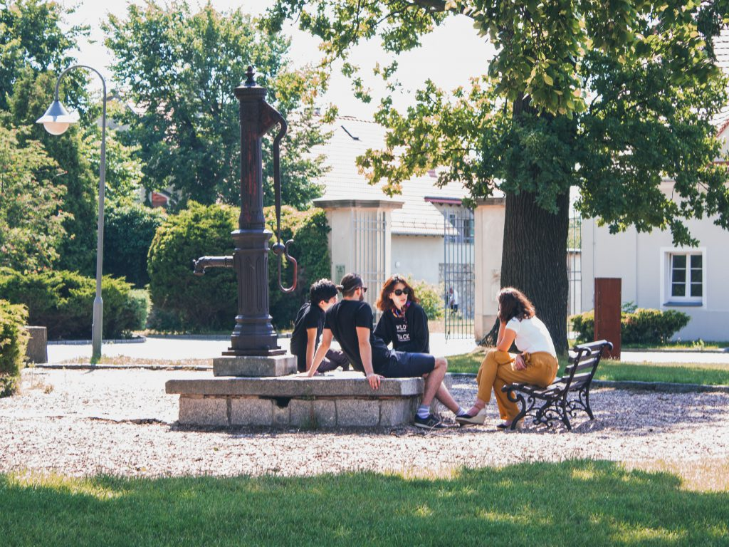 In Krzyżowa the participants got to know each other.
