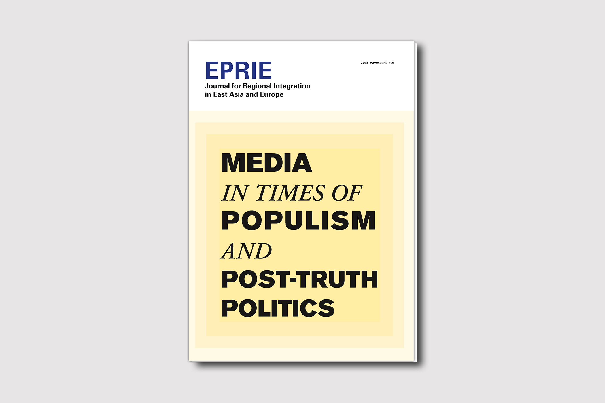 EPRIE Journal 2018